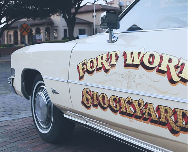 Fort Worth Stockyards Car